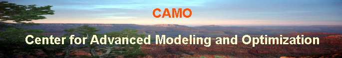 CAMO - Center for Advanced Modeling and Optimization